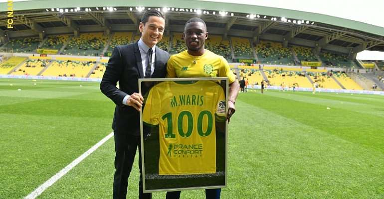 Majeed Waris Elated After Making 100th French Ligue 1 Appearance