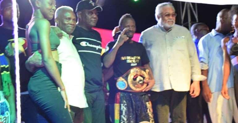 Joseph Agbeko retains title