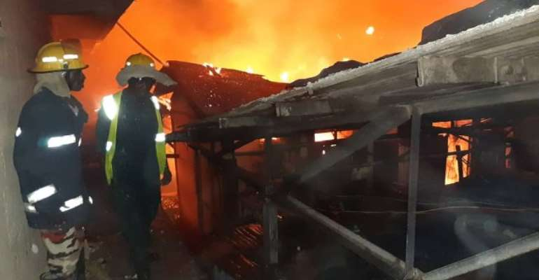For three consecutive nights, Friday, Saturday and Sunday, the Asafo market and the Kumasi Central market were gutted by fire.