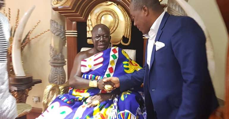 NLA Supports Otumfuo's 20th Anniversary Celebration