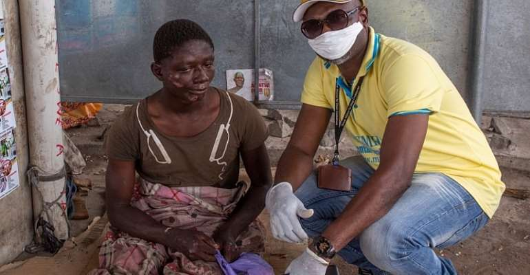 COVID-19: MEMHREP & Feed The Sick Foundation Care For 'The Forgotten' Amid The Pandemic