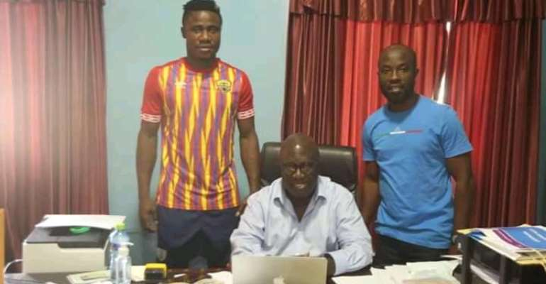 Defender Nuru Sulley Completes Sensational Return To Hearts