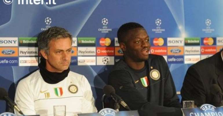 Ex-Inter Milan Midfielder Muntari Speaks To Mourinho Almost Every Day