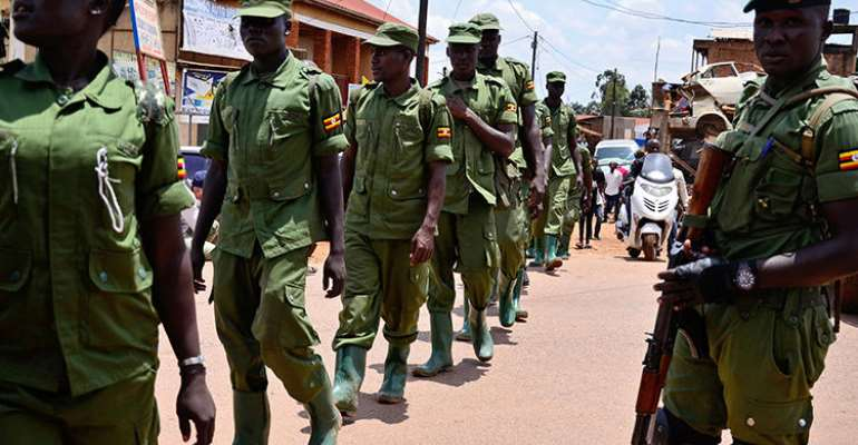 Ugandan Security Personnel Enforcing COVID-19 Measures Assault Journalists