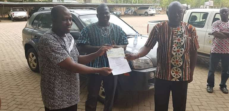 Upper East:: BM Donates PPEs To Key Stakeholders To Fight COVID-19