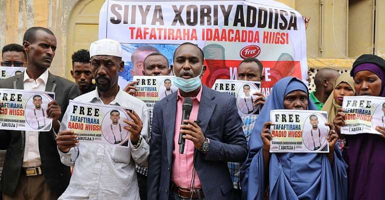 To Crack Down On Free Press, Somalia Accuses An Imprisoned Journalist Of Being Member Of 'Terror Group'