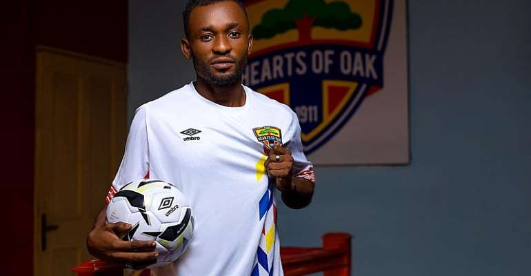 Coach Frimpong Manso Commend Hearts For Signing Skillful Winger Eric Dizan