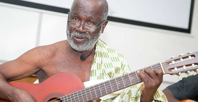 African Ethnomusicologist of palm wine highlife fame, Daniel Kwabena Boa Amponsah known by the stage name Agya Koo Nimo