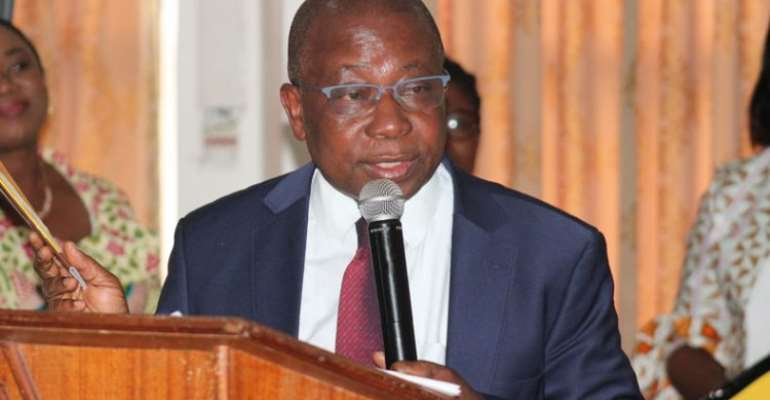 Kweku Agyeman-Manu, Health Minister
