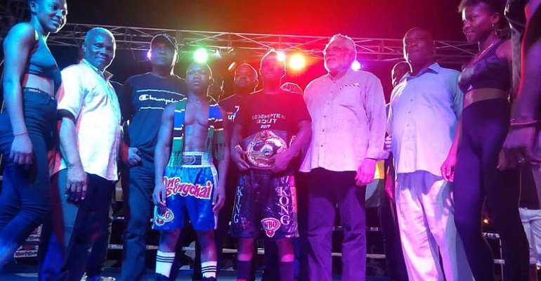 Agbeko Targets 3rd World Title After Beating Hashimu