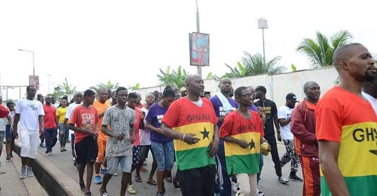 Hundreds Participate In Mamedia Health Walk In Kumasi