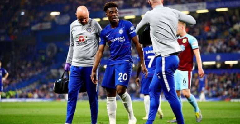 Hudson-Odoi Out For Rest Of Season After Rupturing Achilles