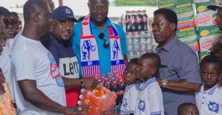 NPP Youth Supports Children's Home In Nkwatia Kwahu