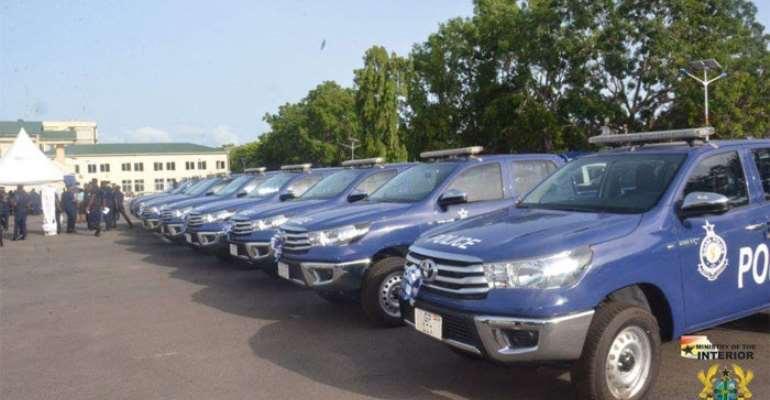 Police Get 64 Vehicles