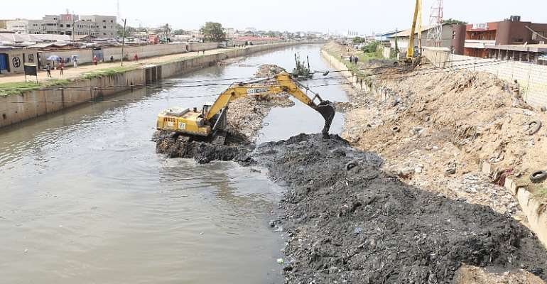 About 1 Million Cubic Meters Of Waste Removed From Odaw River