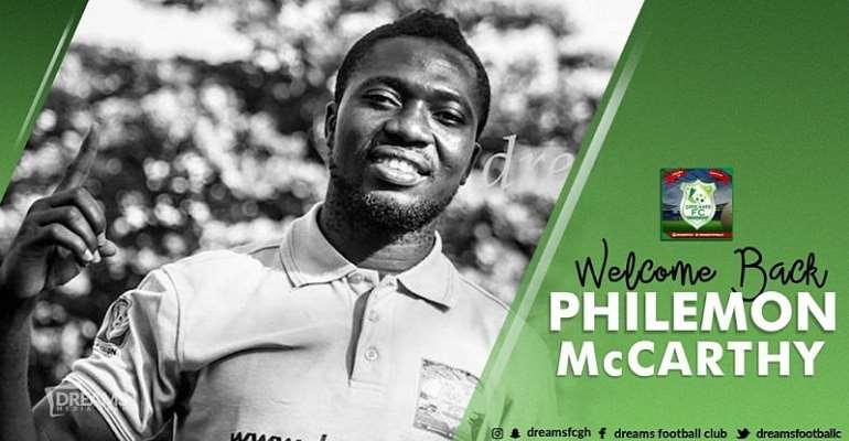Dreams FC Seal Signing Of Experienced Goalkeeper Philemon McCarthy