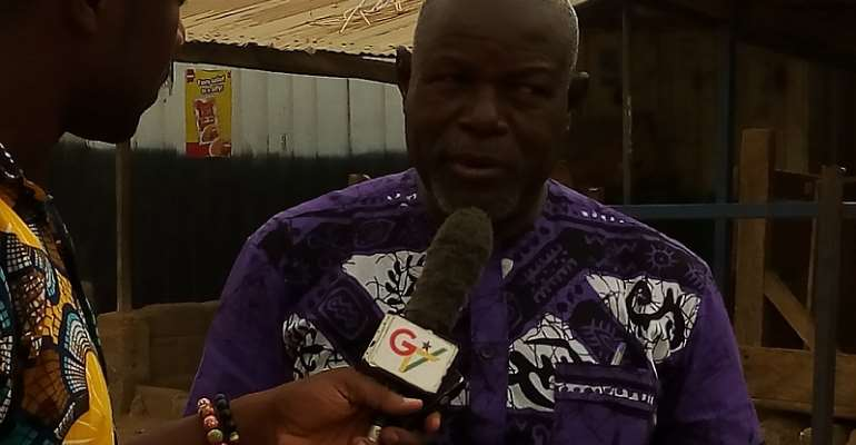 MCE of Bolga Amiyuure Josephe Aturah in an interview with GBC online