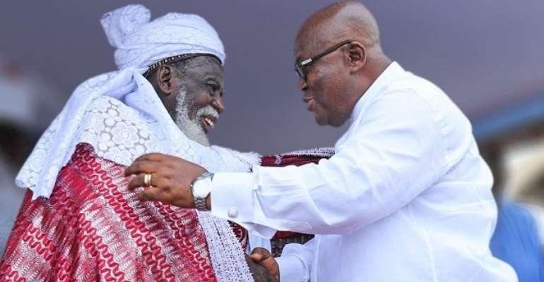 Akufo-Addo wishes Chief Imam for clocking 102years today