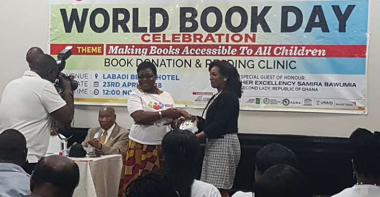 World Book Day: Rotary Club Of Accra Joins GEDaid To Donate Books