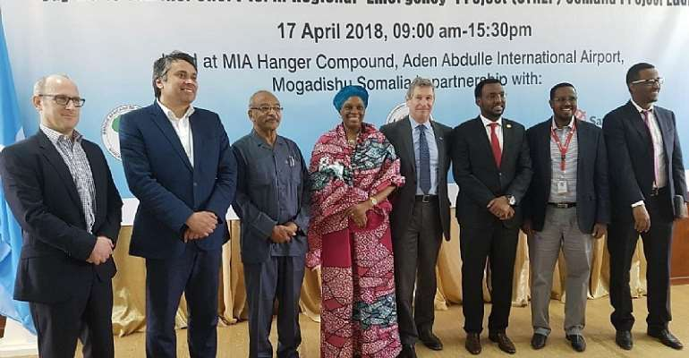 """African Development Bank launches """"Say No to Famine"""" Project In Somalia"""