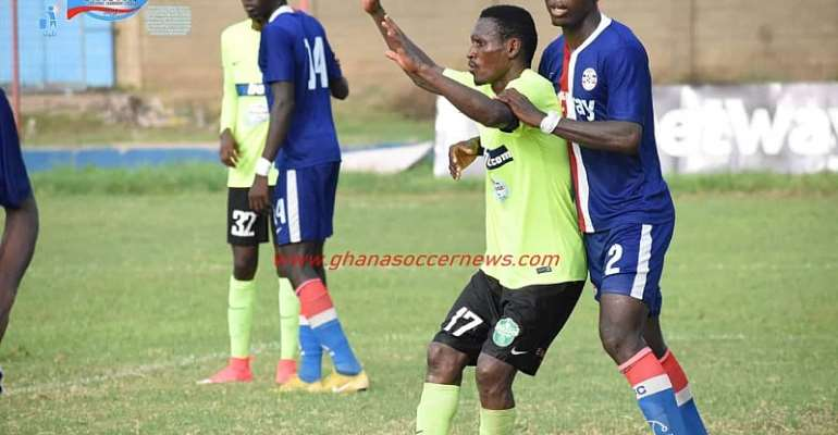 Talented Central Defender Michael Sefah, Solidifies Liberty Professionals' Backline