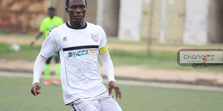 Inter Allies captain Michael Otou