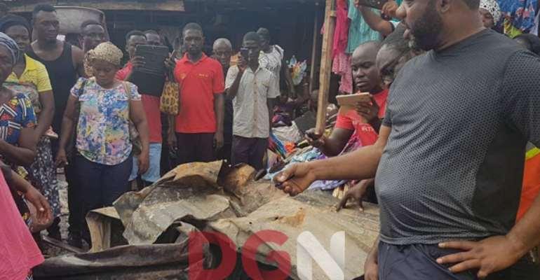 Napo Donates GHc20,000 To Fire Kumasi Victims