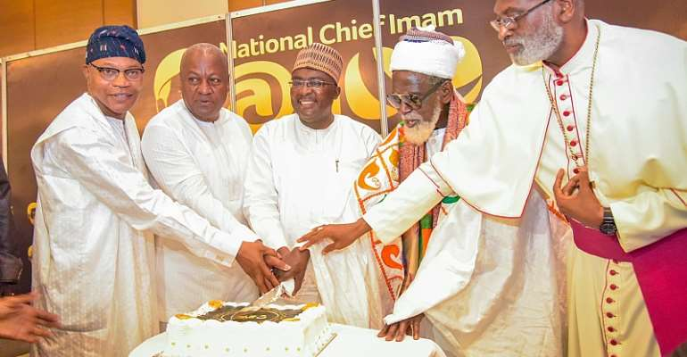 Bawumia calls for acceptance of the many divergent religions in Ghana