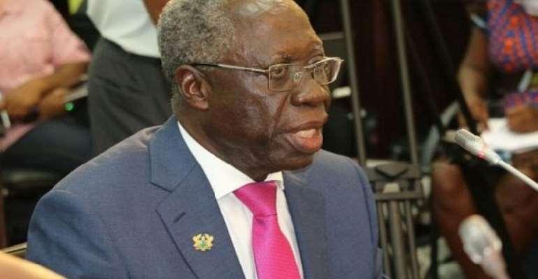 Senior Minister, Yaw Osafo Maafo in trouble