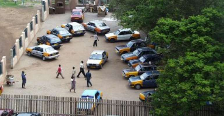 Oguaa taxi drivers withdraw services