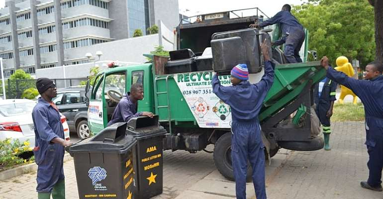OneGhana Movement Launches Dustbin Project