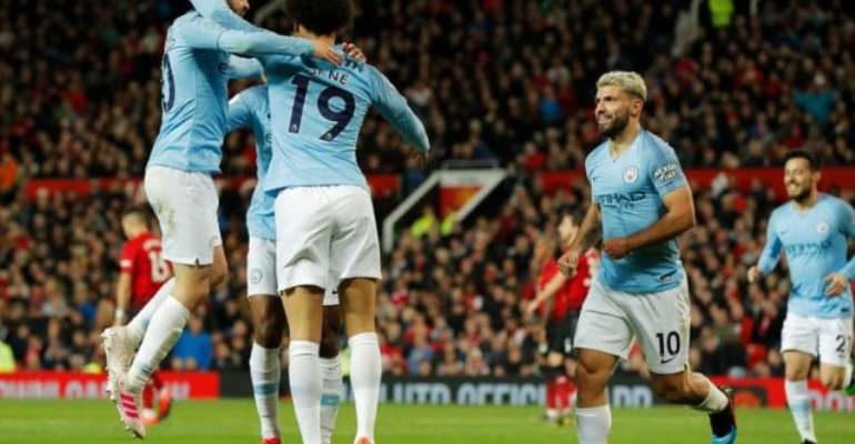 Man City Return To Top With Derby Win Over Man United