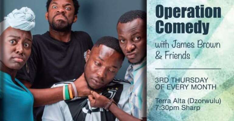 Operation Comedy With ID James Brown And Friends Scheduled for Every 3rd Thursday