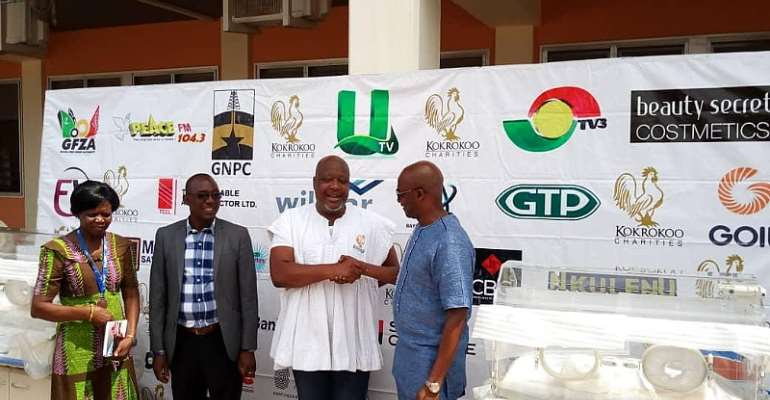 Kwame Sefa Kayi Gives 3 Incubators To Tamale Hospital