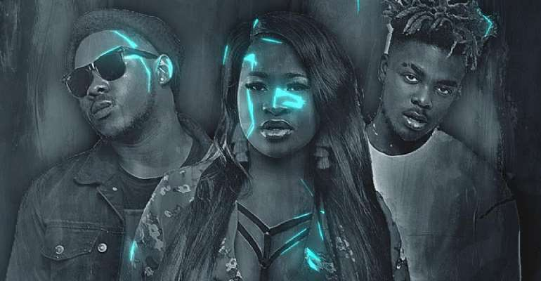 Sista Afia, Medikal and Qwamina MP warms us