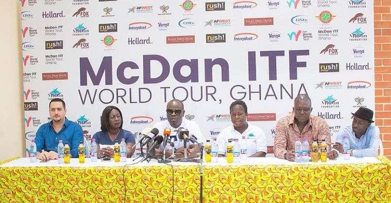 McDan Hosts ITF World Tour At Accra