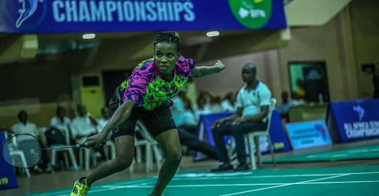 Dan Sam And Jenny Abitty Qualify Ghana For 2019 Africa Games Badminton
