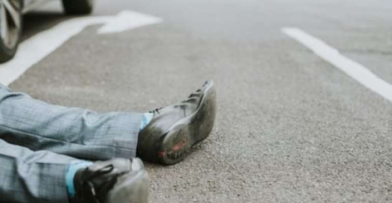Truck Crashes Man To Death At Kwahu