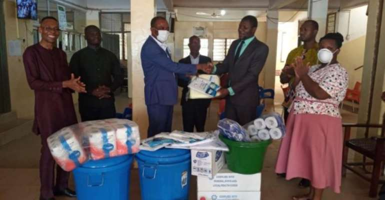 Tamale SDA Hospital Gets PPE To Fight COVID-19