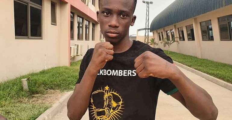 Fast Rising Boxer Samuel Takyi Joins Fight Against Covid-19