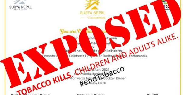 Exposed: Wolf in sheep's clothing - tobacco industry's greenwashing attempts thwarted