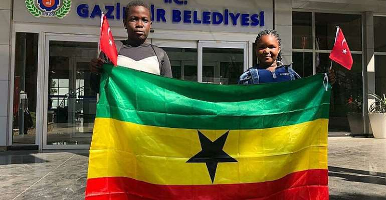 Turkey National Children's Day: JHS Student Represents Ghana