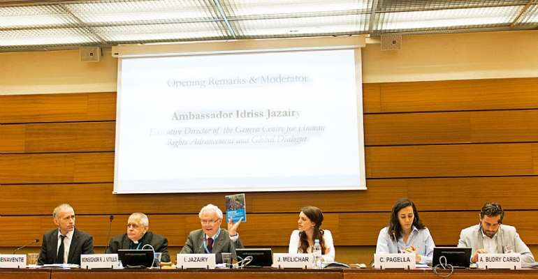 The Geneva Centre organized a panel debate-book presentation on Migration and Human Solidarity, benefitting from the presence of panellists with first-hand experience in the Mediterranean Sea