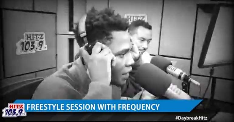 His New Tactics Is Religion: A Close Look At FREQUENCY's Hit Fm Freestyle