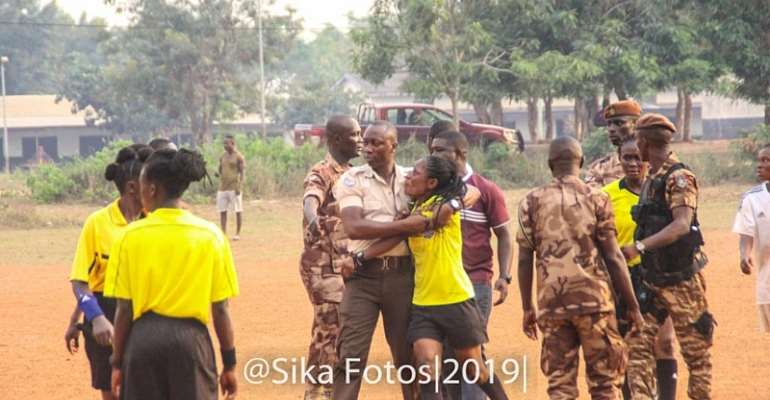 Ghc 5,000 Fine On Prison Ladies Is Too Small For Beating Me—Referee
