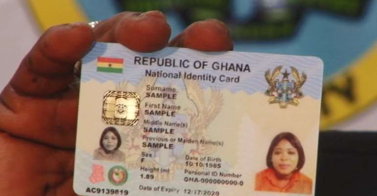 Mass Ghana Card Registration Starts Monday April 29