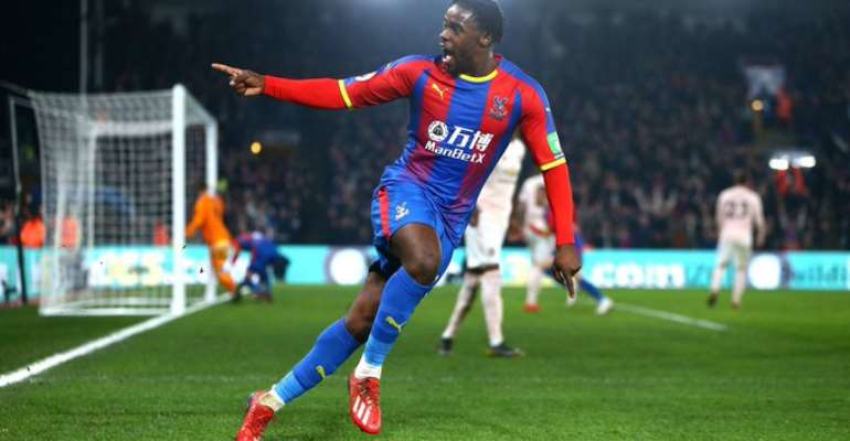 Schlupp's Strike Against Man City Nominated For Crystal Palace Goal Of The Season