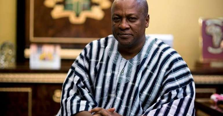 Mahama Picks Top Leadership Award