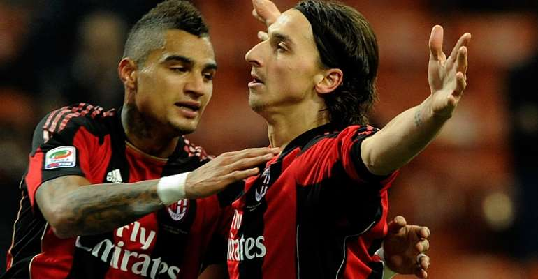 Ibrahimovic Gave Me Everything I Dreamed Of At AC Milan - Kevin Prince Boateng