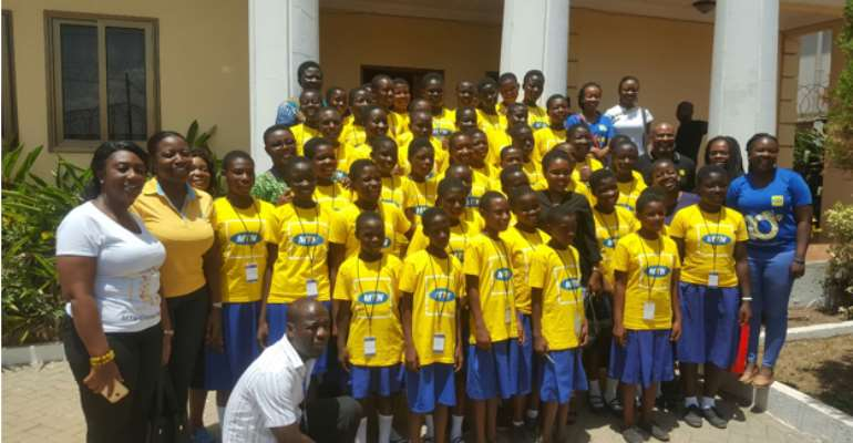 Int'l Girls In ICT Day: MTN Ghana Mentors' Young Girls
